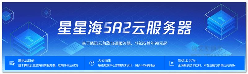 腾讯云星星海SA2服务器